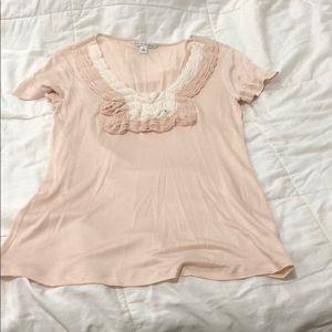 Banana Republic pink blouse. Small.